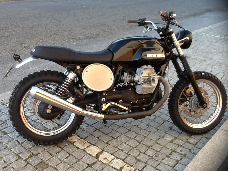 Moto Guzzi V7 Caffe